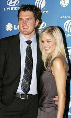 Graeme Smith Girlfriend Minki van der Westhuizen Photos of Cricketers Wifes : Cricketers Wives and Girl Friend Pics,Images