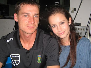 interviews dale steyn 4 Photos of Cricketers Wifes : Cricketers Wives and Girl Friend Pics,Images