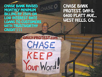DAY-5, CHASE BANK PROTEST