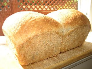 baked barley bread