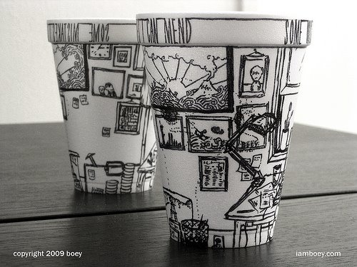 {Art} How do you like your coffee by boy obsolete
