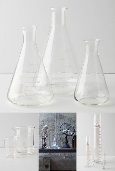 {Design} Scientific vases