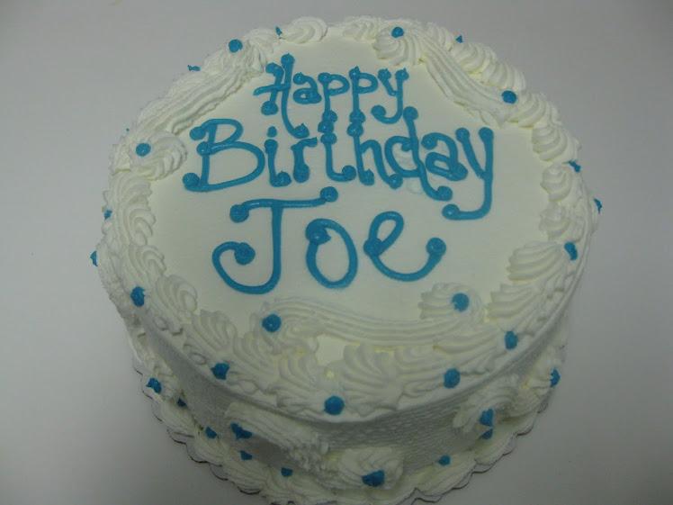 A cake for Joe!