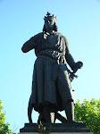 Estátua de S. Luís, da França.