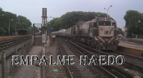 Empalme Haedo...un lugar donde se empalman los destinos