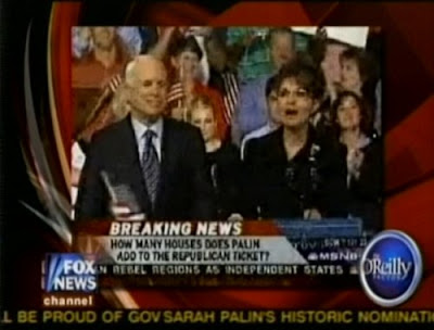 Surprise!! MSNBC Attacks Sarah Palin While She's Being Introduced!