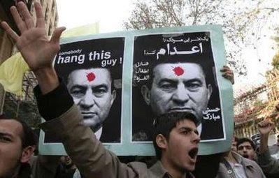 egyptians protest hosni mubarak in tahrir square