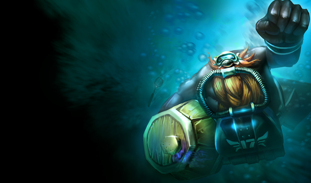 Gragas - The Rabble RouserUrf The Manatee Wallpaper