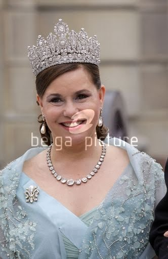 Grand Duchess Maria Teresa Of Luxembourg. Busy month for the Grand