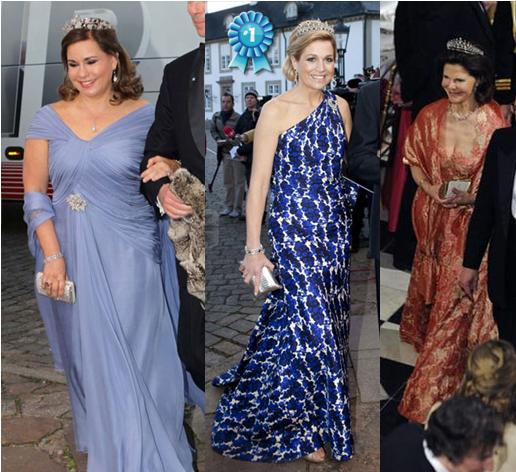 Grand Duchess Maria Teresa Of Luxembourg. L to R: Grand Duchess Maria