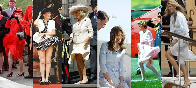 Queen Elizabeth Wardrobe Malfunction
