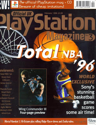 the official uk playstation magazine chronology issue 3 february 1996