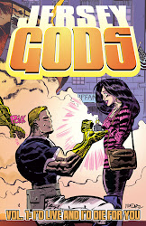 JERSEY GODS, VOL 1 - TPB - Also by Glen Brunswick - Art by Dan McDaid - CLICK ON COVER TO BUY!