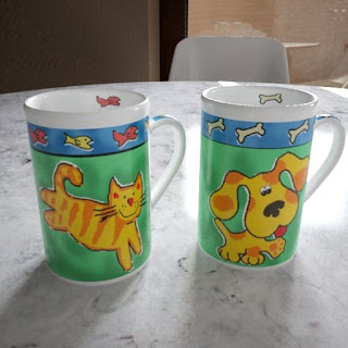 Free 3D model - Cat'n'Dog cups