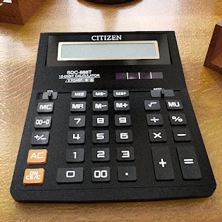 Free 3D model - CITIZEN calculator