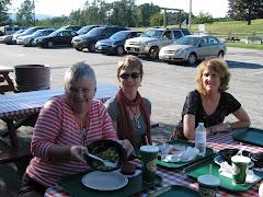 Linda, Kathryn, Drew