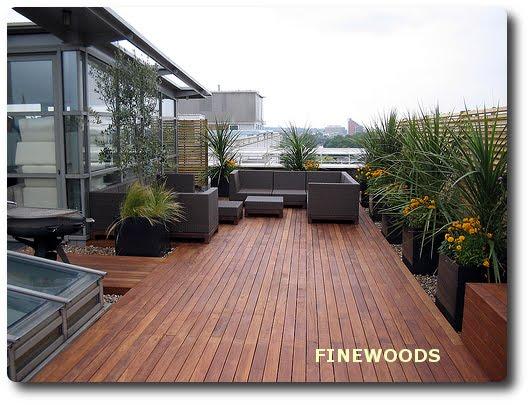 Maderas para exteriores finewoods terrazas jardines - Fachadas para terrazas ...