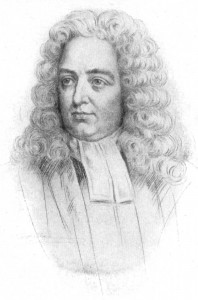 How did Jonathan Swift think poverty can be solved?