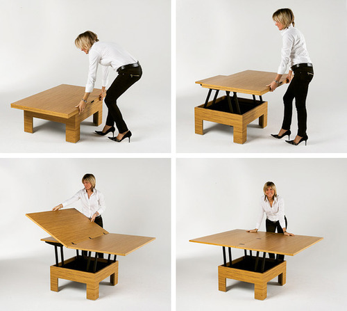 amazing space saving furniture. my mom showed me a video which features unique space saving solutions to urban living that is easy accessible and really pretty amazing furniture s