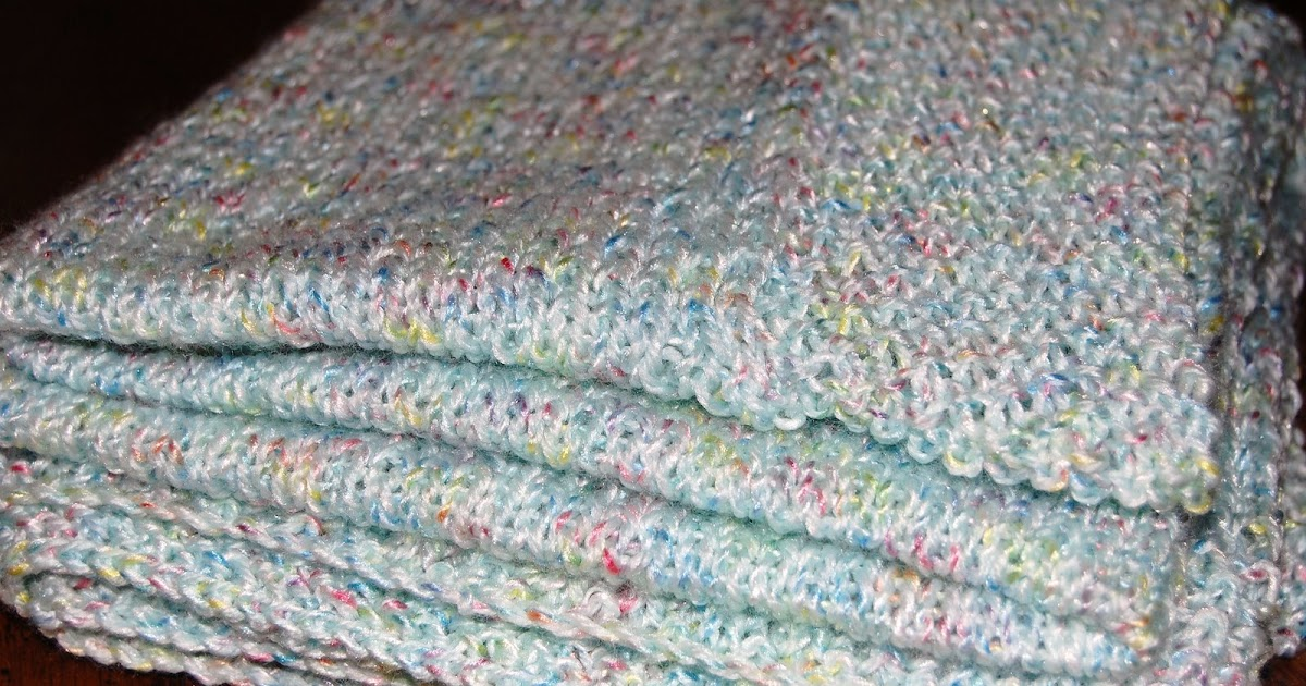 Knitting Satori: A New Pattern: Easy Airy Summer Baby Blanket