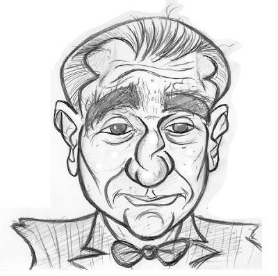 Martin Scorsese caricature
