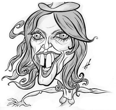 Madonna caricature