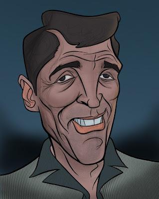 Dean Martin caricature