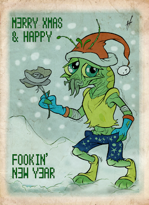 District 9 Xmas card