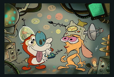 happy helmet / stimpy's invention