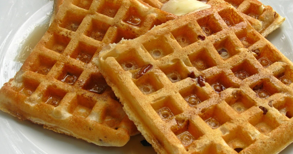 All That Splatters: Pecan Waffles