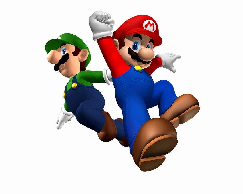 "mario bros characters. ""Super Mario Brothers""."