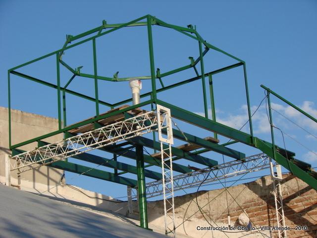 Observatorio astron mico aficionado o observatorio for Armar escalera metalica