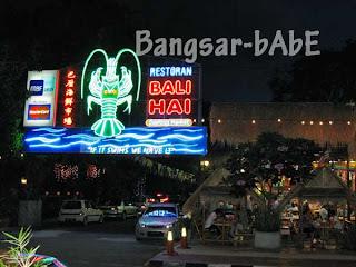 Restaurant Bali Hai Penang Bangsar Babe
