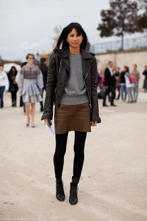 wily wiley style spotlight leather skirts