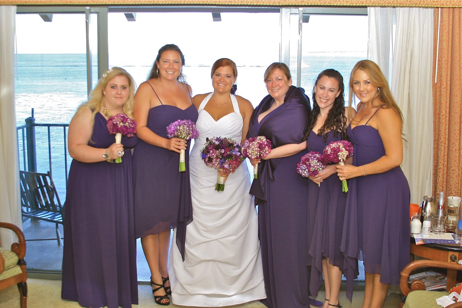 Bridesmaid Different Dresses Same Color Choice Image - Braidsmaid ...