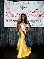Vildane Zeneli Miss Diaspora 2010 America