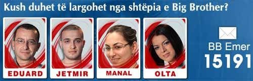 Nominimet 27 Mars 2010 Big Brother Albania