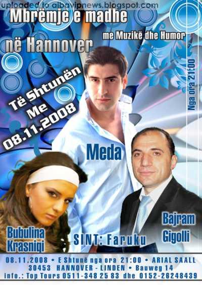 Hannover Meda Bubulina Bajrami me 8 Nentor 2008