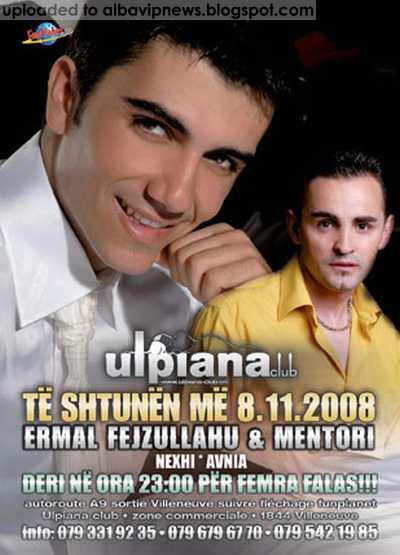Ulpiana Club me Ermal Fejzullahu dhe Mentor Kurtishi