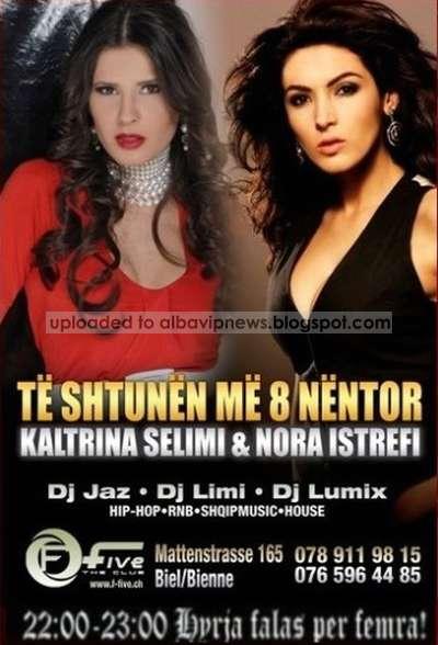 F Five Club Nora Istrefi Kaltrina Selimi