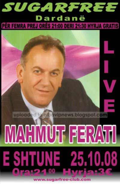Mahmut Ferati Sugar Free Club