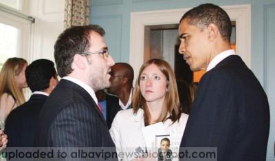 Bleron Baraliu ne shoqeri me Presidentin Obama