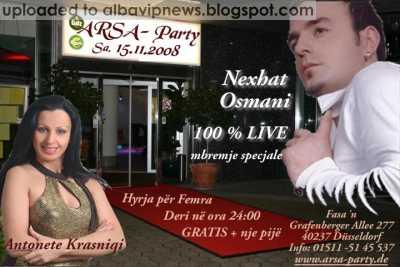 Arsa Party 15 Nentor 2008 Nexhat Osmani