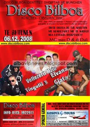 Disco Bilboa 6 Dhjetor 2008