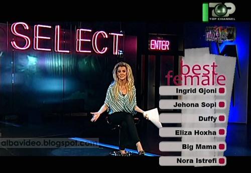 Marina Vjollca Top Fest 6 Nominimet