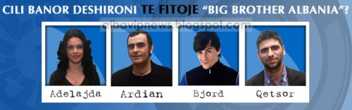 Big Brother Albania 2 Finalistet