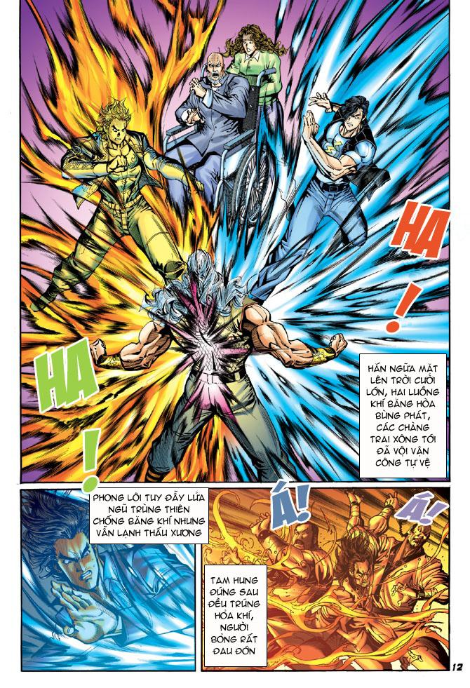 Tân Tác Long Hổ Môn chap 43 - Trang 10