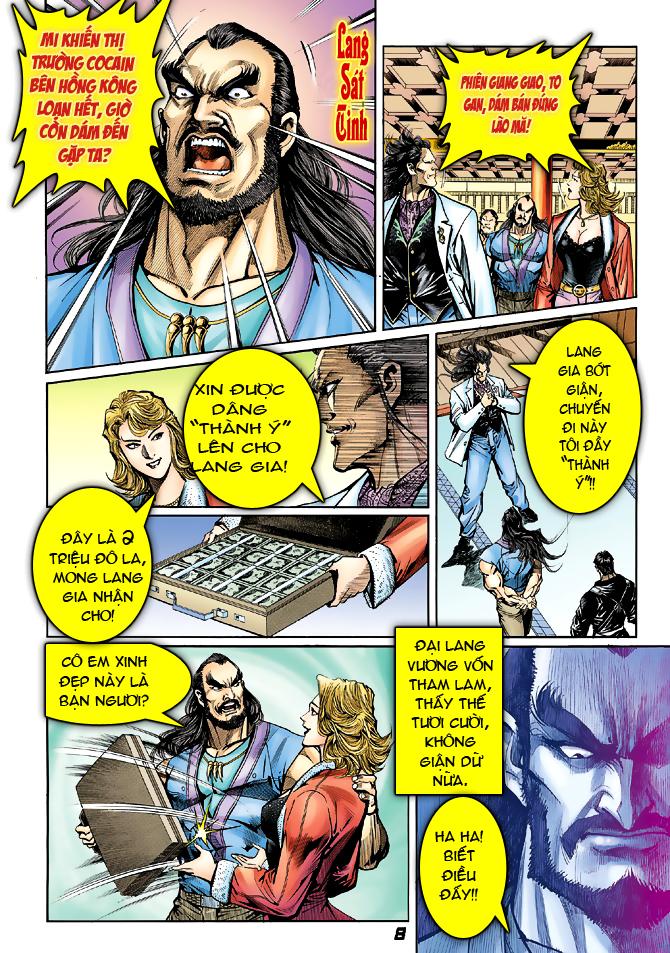 Tân Tác Long Hổ Môn chap 39 - Trang 8