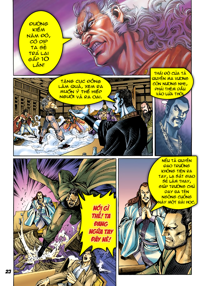 Tân Tác Long Hổ Môn chap 39 - Trang 21