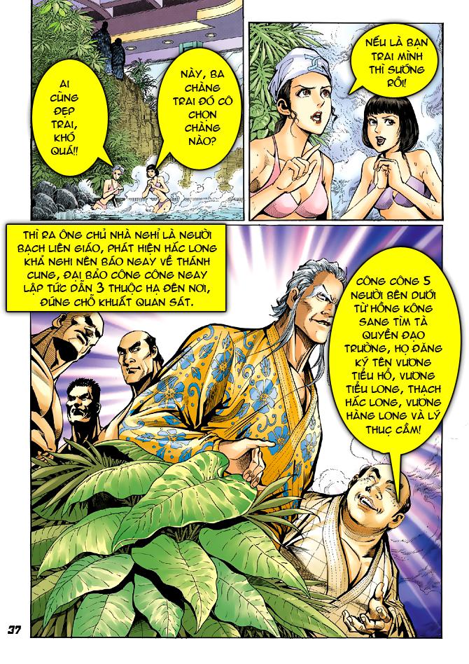 Tân Tác Long Hổ Môn chap 39 - Trang 33